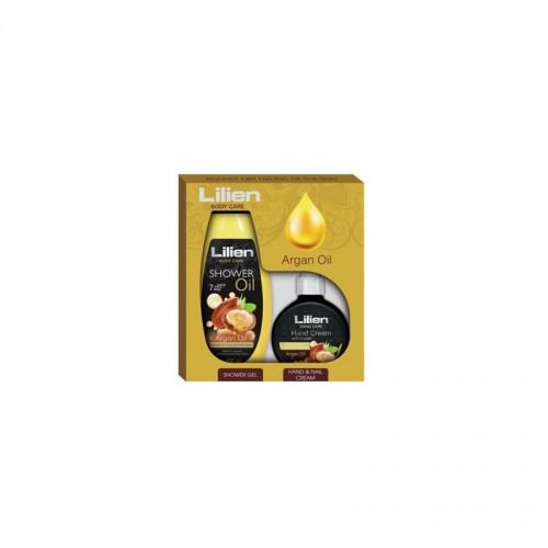 LILIEN BODY CARE GIFT BOX ARGAN OIL 400ML- 300ML