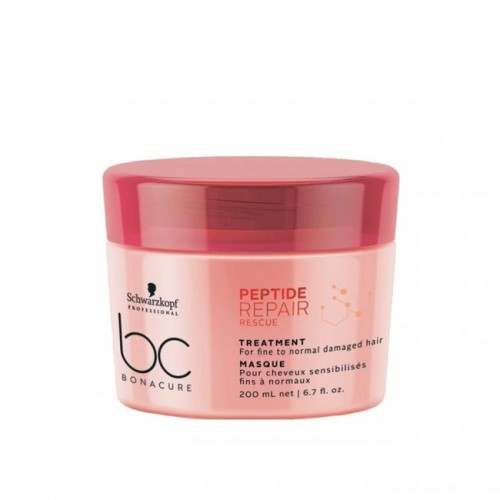 BC PEPTIDE REPAIR RESCUE Treatment for Fine to Normal Damaged Hair 200ml