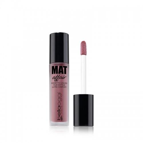 Bella Oggi Mat Affair Liquid Lipstick - Κραγιόν Ματ No1 lollydol
