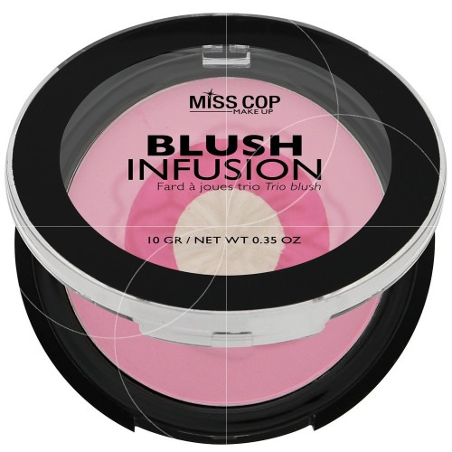 ΡΟΥΖ MISS COP - BLUSH INFUSION N°04 PINK GIRLY 10 GR