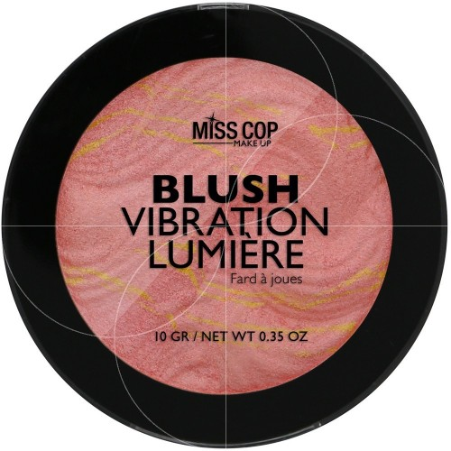 ΡΟΥΖ MISS COP - BLUSH VIBRATION LUMIÈRE N°02 ABRICOT 10 GR