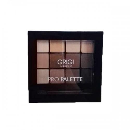 Σκιές Ματιών Grigi Make up Pro palette No 41 Pro Nude Παλέτα σκιών Φυσικών αποχρώσεων 12x1,5g